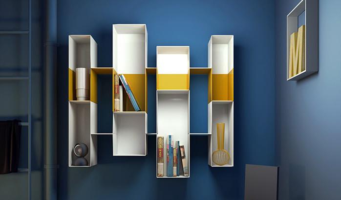 Libreria design: tre proposte d'arredo