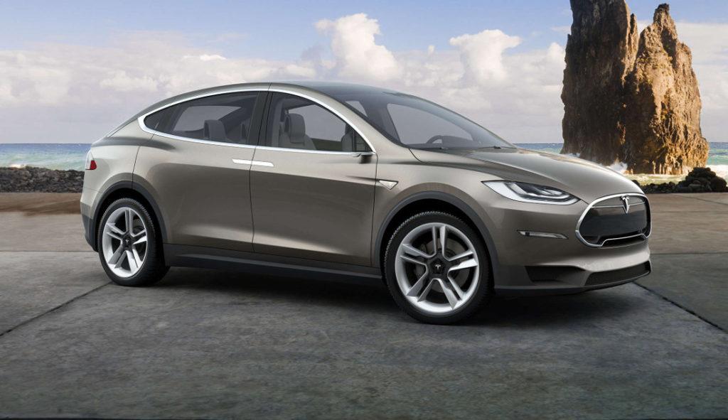 Tesla Model X auto elettrica