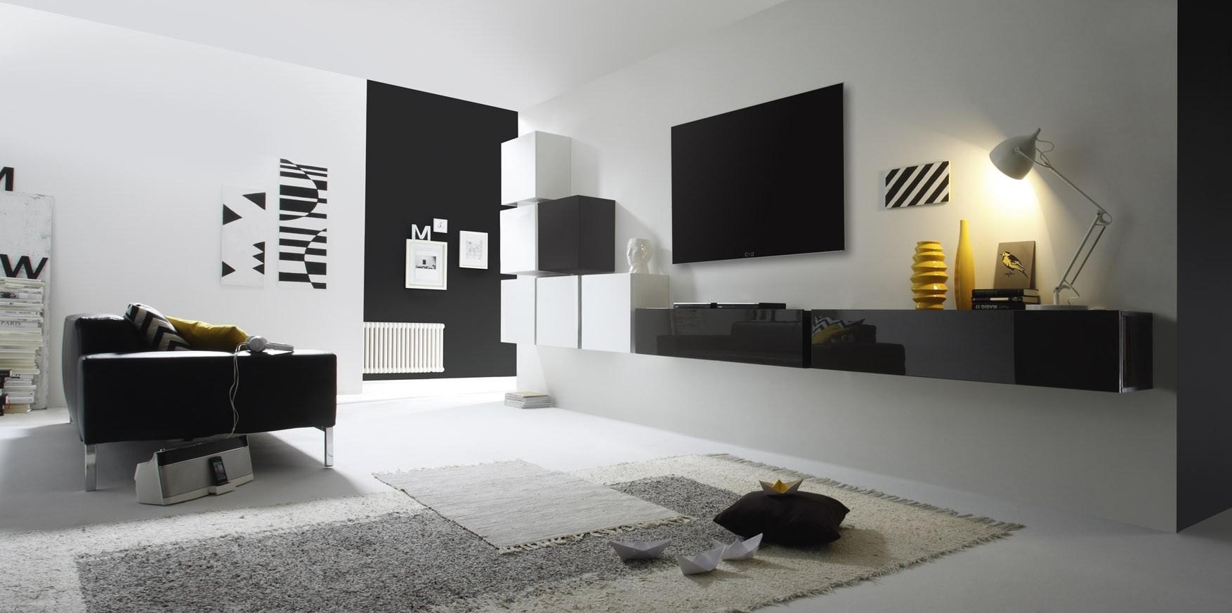 Parete attrezzata moderna in varie finiture blog outlet for Parete attrezzata moderna outlet