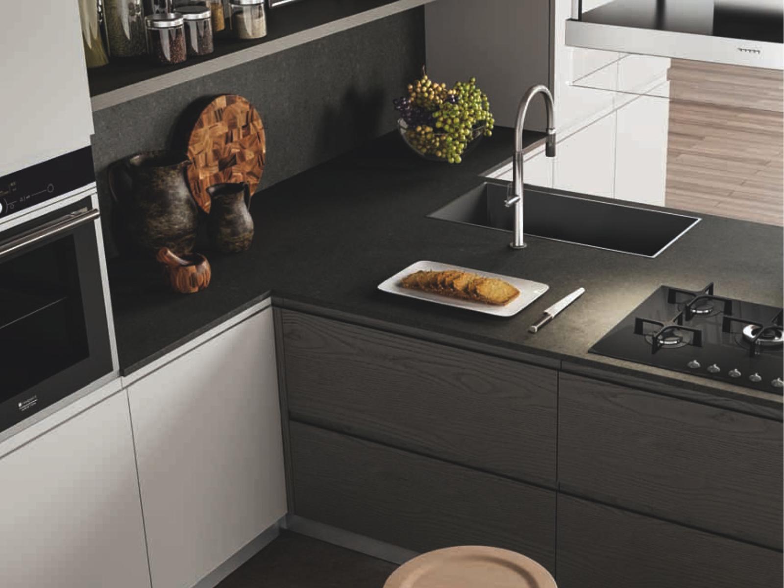 Top Cucina In Quarzo Corian O Ceramica Ti Aiutiamo A Scegliere Blog Outlet Arreda Arredamento E Casa