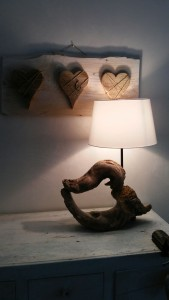 Lampada artigianale creata da Paolo Spigolon