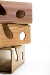 Cuccia interior design artigianale in legno per il benessere tuo e del tuo gatto