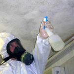 Formazione di muffa in casa causata dall'umidità