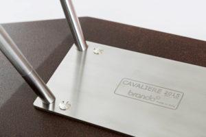 Tutti i componenti delle cucce sono realizzati con materiali d'alta qualità, per coronare un prodotto di design con grande attenzione ad ogni singolo dettaglio