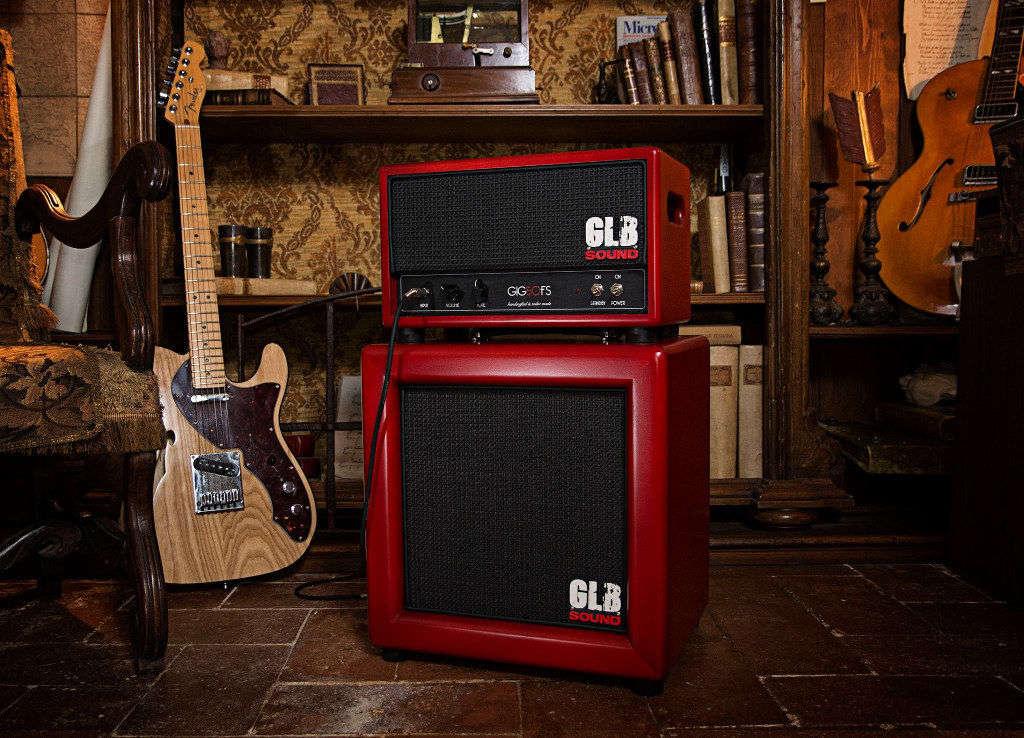 Amplificatore e diffusore GLB Sound GIG50 nella sede Lizard di Fiesole, per il corso di chitarra Jazz del maestro Luca Gelli