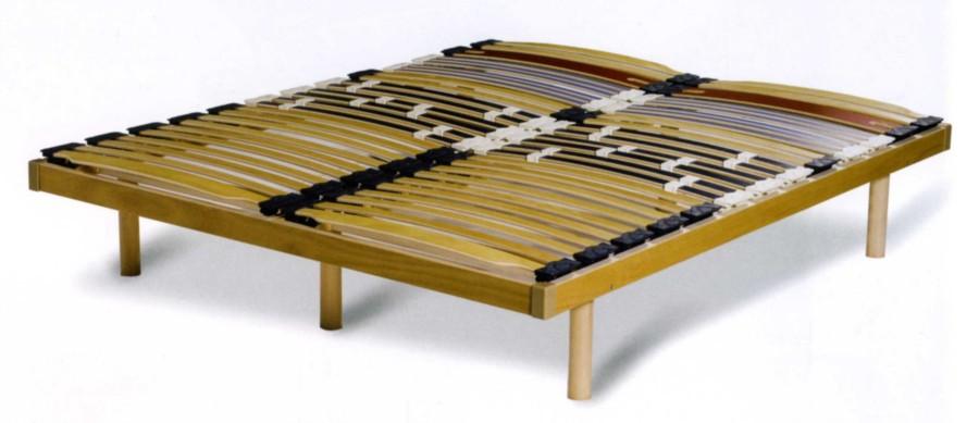 Utilizzare una rete a doghe tutta in legno riduce drasticamente l'inquinamento elettromagnetico durante il sonno