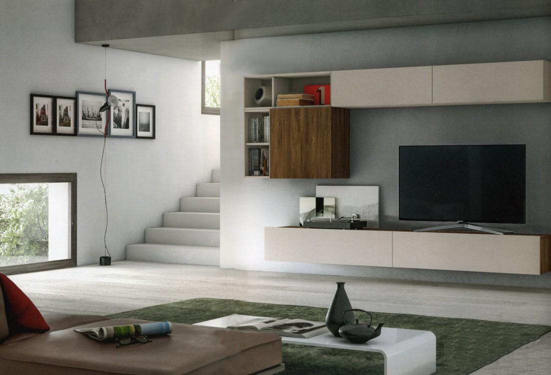 Pareti attrezzate moderne economiche classiche o in - Mobili pareti attrezzate classiche ...