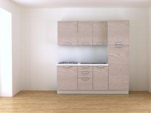 Cucina 2 metri componibile olmo cendita online