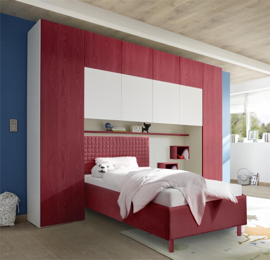 Camerette a ponte della nuova collezione gioia blog outlet arreda arredamento e casa - Camerette con letto a ponte ...